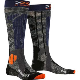 X-Socks Ski Rider 4.0 Calze Uomo, stone grey/melange blue